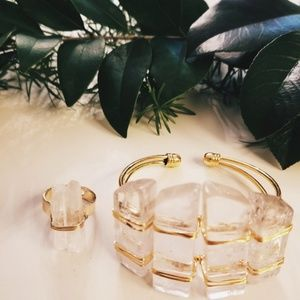 Jewelry - Crystal Quartz Set